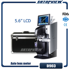 D903 Горячая цветной сенсорный экран 5,6 линзометр с принтером и PD измеритель внутренняя УФ часть авто объектив метр