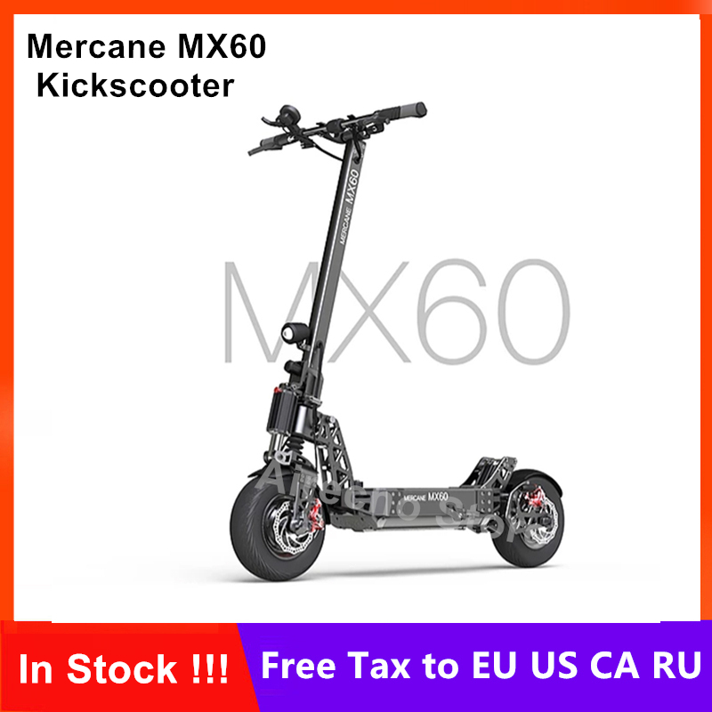 <font><b>Mercane</b></font> <font><b>MX60</b></font> Kickscooter Foldable Smart Electric Scooter 2400W Motor 60km/h 100km Mileage 11 Inch Tire Dual Brake Skateboard image