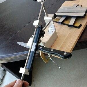 Image 5 - KME سكين مبراة المهنية درجة أكبر أحدث المحمولة 360 درجة دوران سكين طاحونة نظام واحد الماس المشحذ