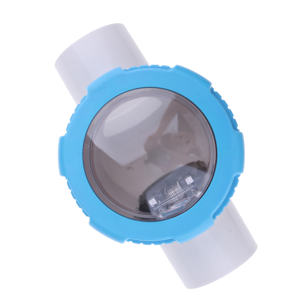 Non Return Clear Chamber Check Flapper Valve 63mm Check Valve Kit For Swimming Pools