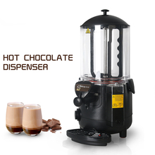 ITOP 5L Hot Chocolate Dispenser Commercial Machine Perfect for Cafe, Party, Shop and Small Bar Baine Marie commercial hot chocolate machine 10l electric baine marie mixer chocofairy dispenser machine