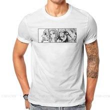 T-shirt homme en pur coton avec dessin animé de Ragnarok, Brunhild, Lu Bu, Adam, pour cadeaux d'anniversaire, style Hip-Hop, taille 6XL