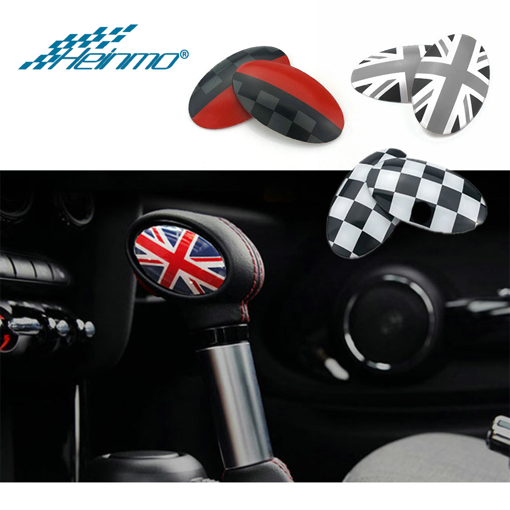 For MINI Cooper Countryman F60 Clubman F54 F55 F56 Car Styling Gear Shift Knob Cover Decoratin Sticker For MINI F56 Accessories