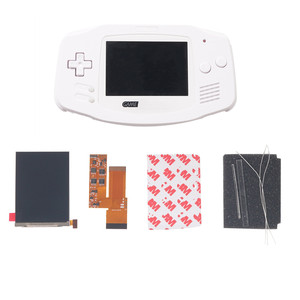 Image 4 - FOR GBA IPS V2 4 PIXELS IN 1 FULL VIEWING LCD KITS BACKLIGHT FOR GAMEBOY ADVANCE REPLACE 10 Levels Of Brightness screen