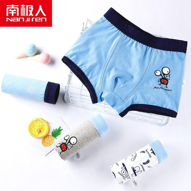 Boys Cotton Underwear Set  2