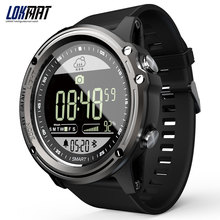 Hot Lokmat Sport 50M Waterproof Smartwatch 33-month Standby Time 24h Real-time weather Bluetooth Sma