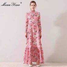 Женское дизайнерское платье moaayina узкие Макси платья с длинным