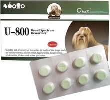 8 таблеток для собак и кошек okar u800 широкого спектра