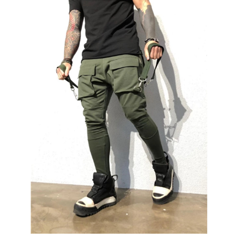 2019 Fashion Streetwear Sweatpants Joggers Causal Sportswear Pants Men Black Men's Hip Hop Sweatpants Trousers For Men S-3XL