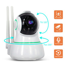 Home Security IP Camera Wireless WiFi Camera Baby Monitor IR Night Vision Motion Detection Two Way Audio Remote Control Pan Tilt(China)