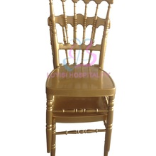 Gold aluminum Napoleon chair