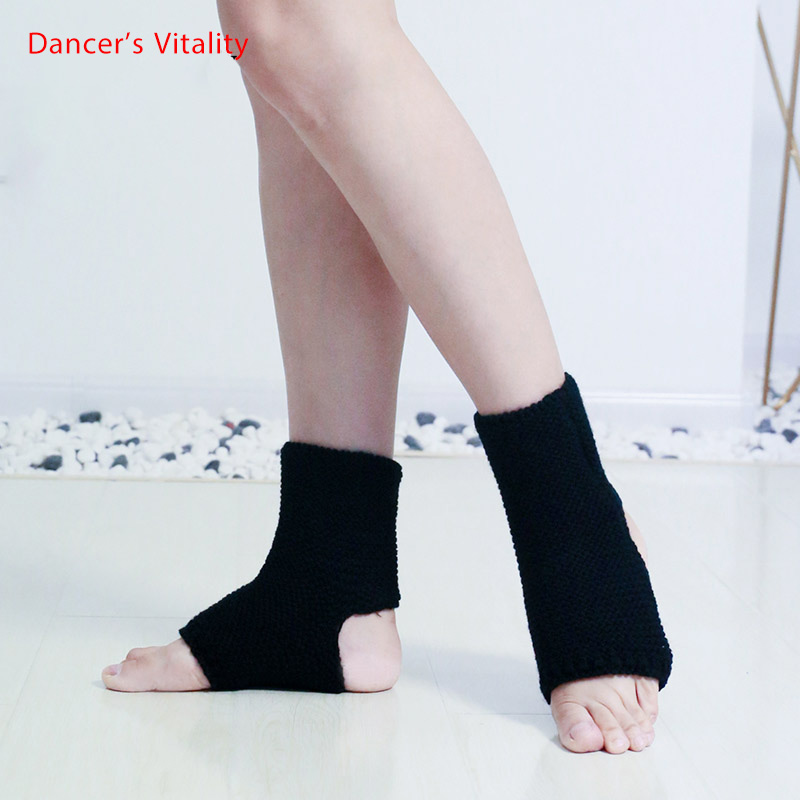 New Arrival Long Belly Dancing Latin Dance Socks High Quality Long Foot Socks For Dancing Practice Black White