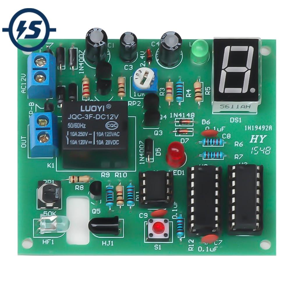 DIY 2-Digit 30-60S Counter Timer Simple Stopwatch Digital Electronic newAHS