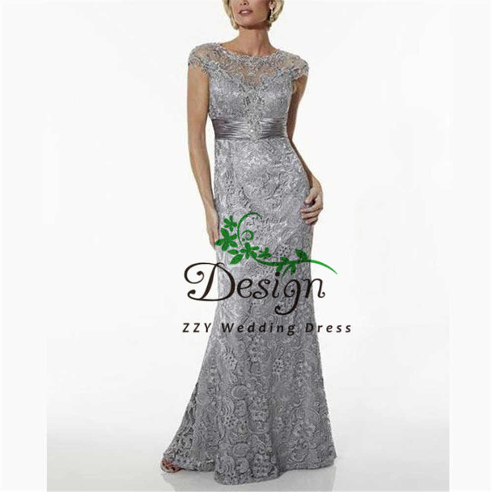 Mother Dress Sheath Appliques Lace Beading Sashes  Vestido Madrina Boda Plus Size Mother Of The Bride Dressess