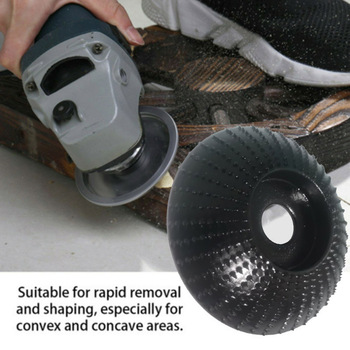 Wooden Grinding Wheel Angle Grinder Polishing Disc Carving Sanding Abrasive Tool Woodworking Cutter Wooden Grinding Wheel-30 yg326 6 8 kgf cm2 0 30 m3 min 25000 rpm 1 4 air die grinder pneumatic polisher stone abrasive wheel grinding tool quick chuck