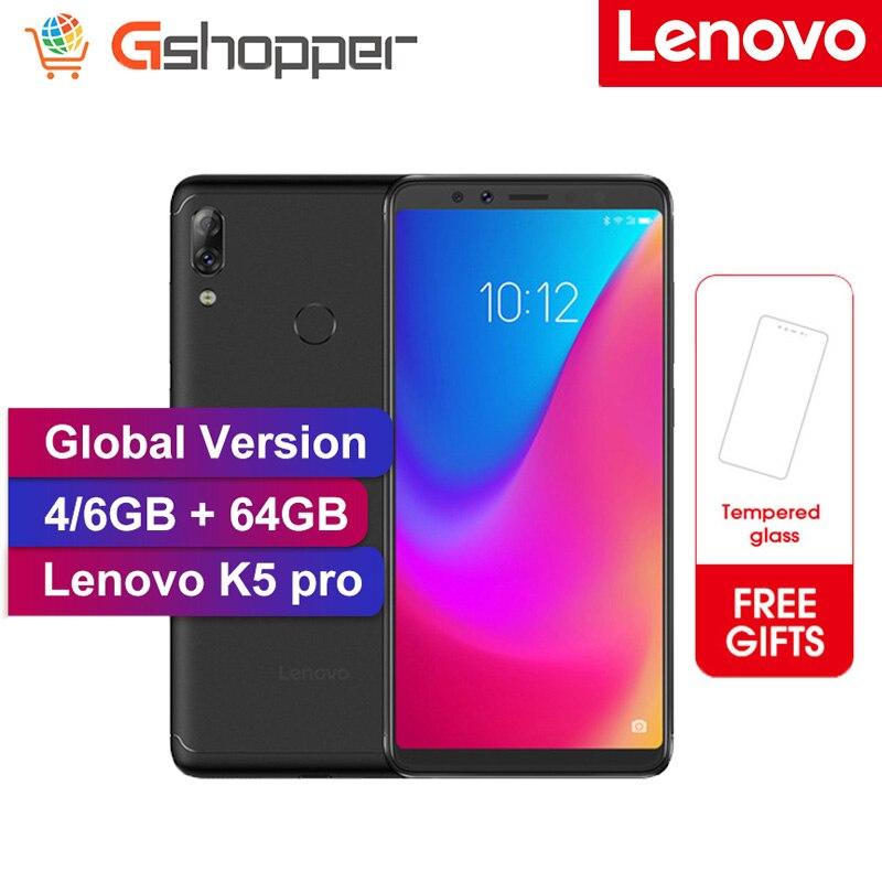 Global Version Lenovo K5 Pro Mobile Phone Snapdragon 636 Octa Core 5.99