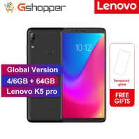 Global ROM Lenovo K5 Pro 6GB RAM 64GB Snapdragon 636 Octa Core Four Cameras 5.99 inch 4G LTE Smartphone 4050mAh