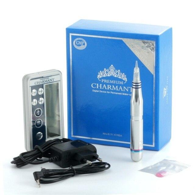 Charmant 2 Semi-Permanent Tattoo Digital Machine Dermografo Makeup Tattoo Machine kit for Eyebrow Lip Eyeliner Microblading Pen 4