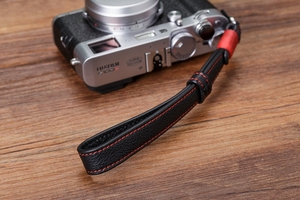 Image 4 - Original Handmade Doppel seite Verdicken Echtem Leder Kamera Handgelenk Strap Hand Armband für Sony Leica Canon Fuji Nikon Olympus