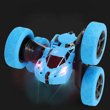 Odilo RC Car 2.4G 4CH Stunt Drift Deformation Buggy Car Rock Crawler Roll Car 360 Degree Flip Kids Robot RC Cars Toys(China)