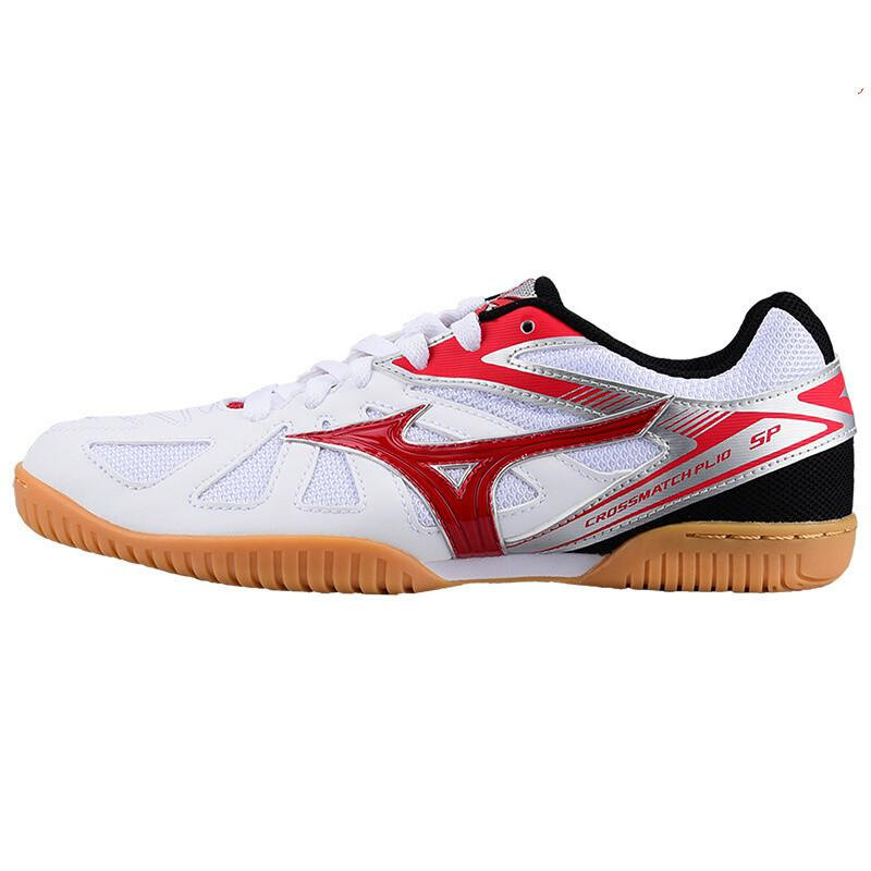 Оригинальная обувь Mizuno Cross Match Plio Cn для настольного тенниса для мужчин и женщин; обувь для тренировок в помещении; амортизирующая национальная команда; кроссовки - Цвет: 81GA183462