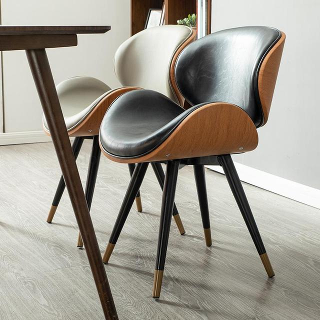 K-star Nordic Dining Chair Modern Minimalist Home Leisure Chair Coffee Shop Chair Wrought Iron Net Red Chair Coffee Shop Cha 2
