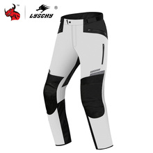 Moto Pants Motorcycle-Pants Protective-Gear Riding Waterproof Winter Men LYSCHY Chaqueta