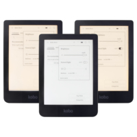 KOBO Clara HD N249 eReader Touch screen e Book Reader e ink Front Light e books Reader white / warm light