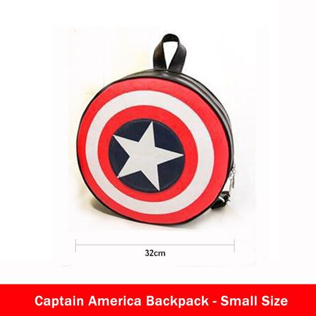 Merveilles les Avengers Captain America Shield sac à dos sac à dos sac étudiant bout rond Agents de S.H.I.E.L.D. Livraison gratuite