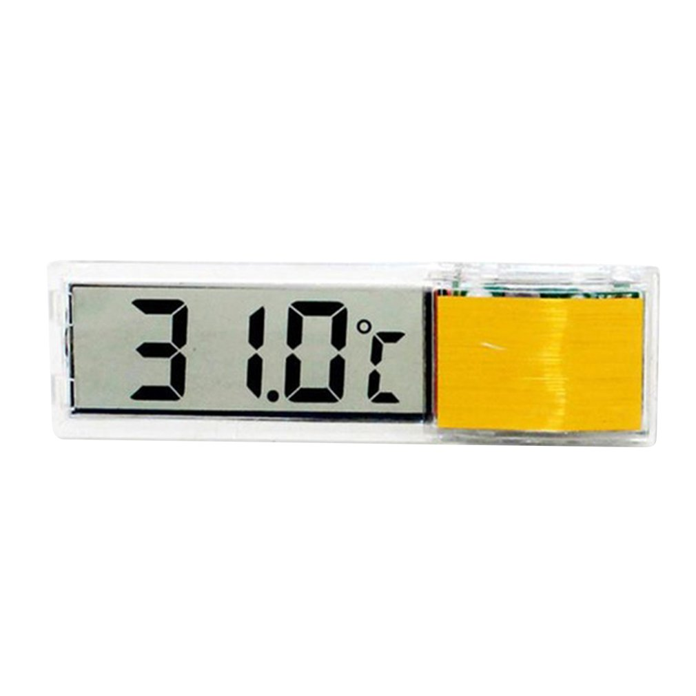 Aquarium Thermometer Digital Lcd Electronic Fish Tank 3d Digital Temperature Gauge Sticker Shrimp Fish Turtle