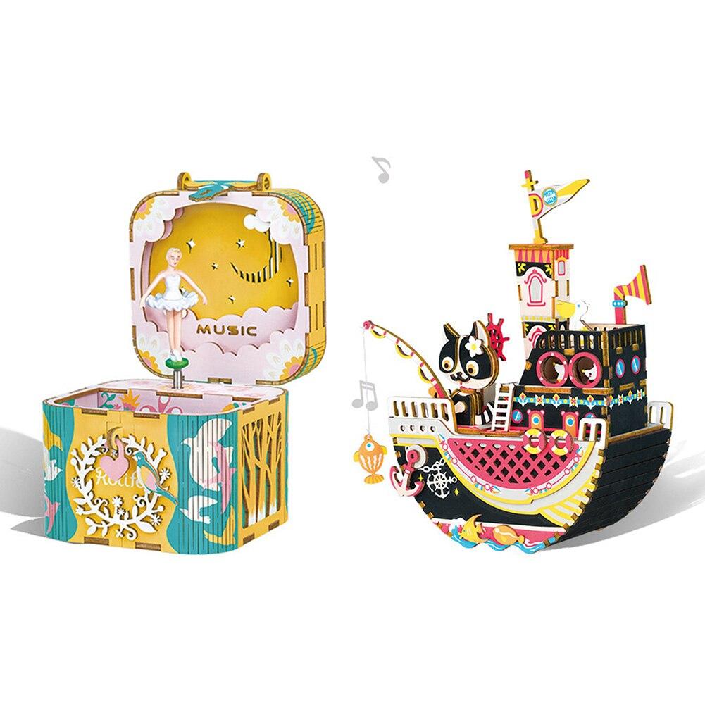 Bijoux boîte à musique voyage cosmétique bijoux cercueil organisateur maquillage rouge à lèvres boîte de rangement beauté conteneur collier cadeau d'anniversaire