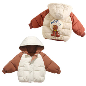 Image 3 - Benemaker מעיל החורף לילדים ילדה מעיילי סרבל פעוט סלעית מעיל בגדי תינוק מעיל רוח ילד הלבשה עליונה YJ116