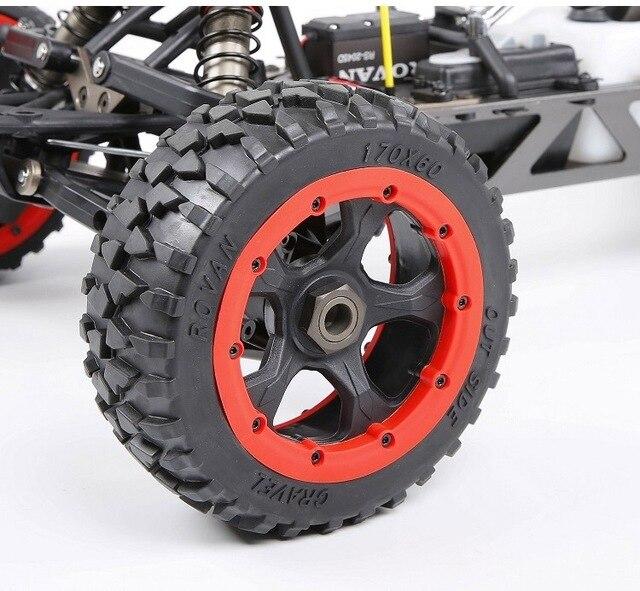 ROFUN ROVAN baja 29cc powerful 2t engin 2.4g remote control High strength engineering nylon|RC Cars|   -
