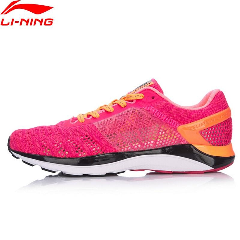 (Код Break) Li-Ning женский супер светильник XIV кроссовки для пробежки дышащие кроссовки с подкладкой li ning спортивная обувь ARBM028 XYP469