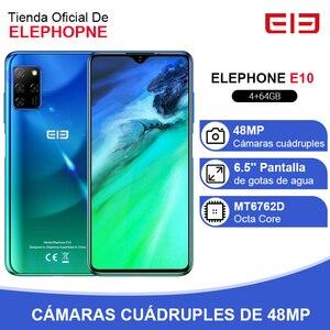 ELEPHONE E10 смартфон с восьмиядерным процессором, 4 ГБ, 64 ГБ, 6,5 дюйма, 4 камеры, 48 МП, основная камера, Android 10, NFC, боковой отпечаток пальца, мобильный телефон