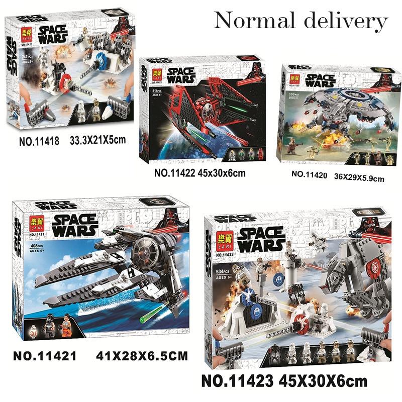 2020 Star Wars Building Blocks Black Ace TIE Interceptor Major Vonreg Fighter Bricks Fit Lepining StarWars 75233 75242 75240
