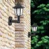 180 Degree Adjustable Garden Motion Sensor Led Wall Lamp Waterproof Outdoor Solar Powered Fence Light Landscape Hexagonal promo