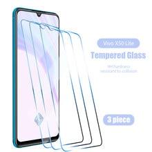 1/2/3 peças hd duro protetor de tela clara para vivo y93 y93s vidro temperado para vivo y55 y66 y67 y70s y75 y79 y81 y83 9h vidro