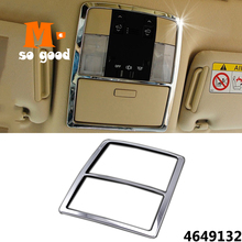 for Toyota Land Cruiser Prado 150 ABS Chrome Car Reading Lamp Cover Trim Interior Styling Accessories 2010 to 2018 11 pieces chrome package handle lamp fuel tank cap cover 1998 2007 for toyota land cruiser 100 lexus lx470 accessories