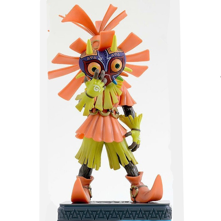 The Legend of Zelda Majora/'s Mask With Light Table Lamp PVC Figure Toy With Box