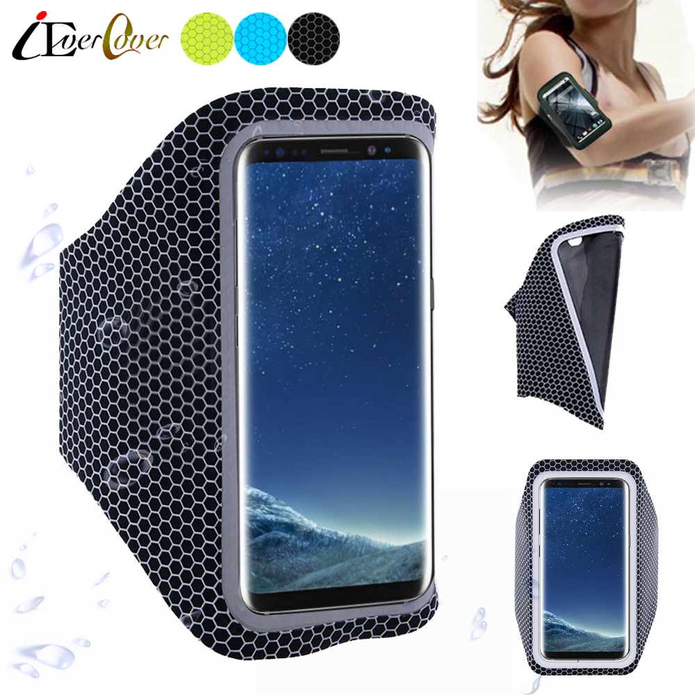 Sport Running Ultra Light Arm Band Case for Samsung Galaxy S10 / S10 Plus Touch Screen Cover, Pouch Bag for Galaxy S9+ S8 Plus