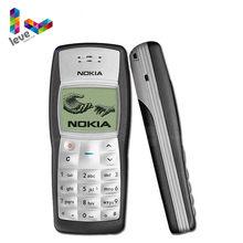Nokia-teléfono móvil usado, 1100 GSM 900/1800, soporta varios idiomas, desbloqueado, reacondicionado, envío gratis