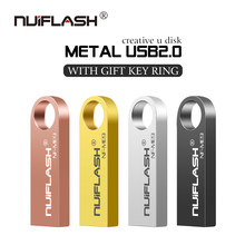 Mini USB 2.0 flash sürücü 128GB 64GB 32GB 8 GB Metal kalem sürücü Pendrive 128 64 32 16 8 GB Flash bellek Cle USB sopa