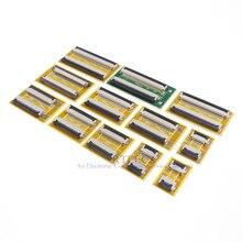 20 pcs 유연한 플랫 케이블 FFC FPC 확장 PCB 피치 0.5mm 6 8 10 12 14 16 20 22 24 26 30 32 36 40 45 50 54 60 68 80 핀