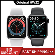 HW22 Smartwatch 1.75 Inch HD Screen 44mm Series 6 Bluetooth Call DIY Watchfaces Fitness Smart Watch Men Wamen For Androis IOS