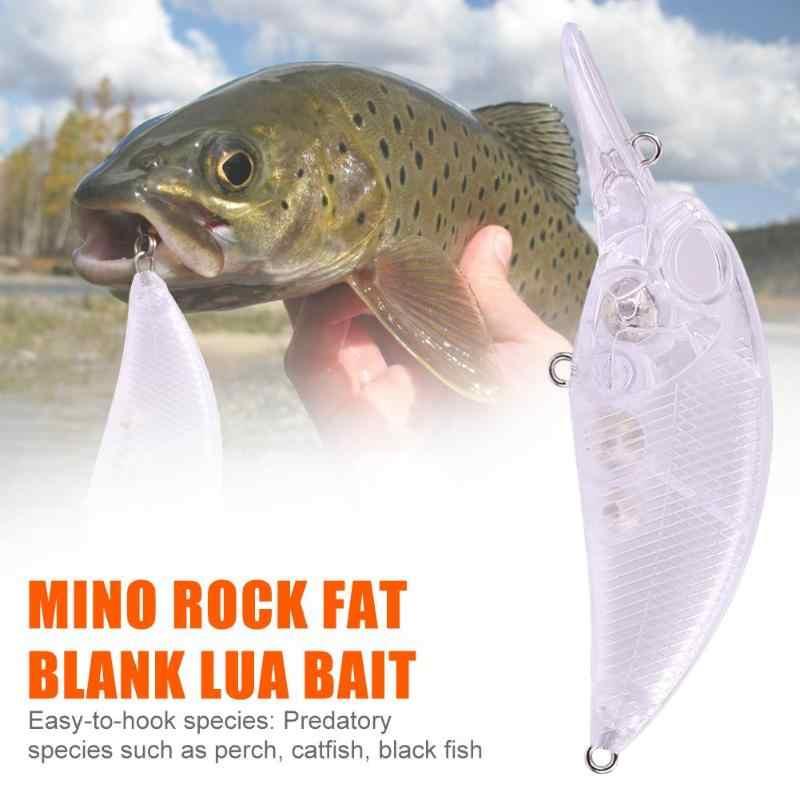 1 adet plastik şeffaf sert cazibesi 14g boş balıkçılık Bait yapay Crankbait sert yemler sahte balık sazan Pike balıkçılık mücadele