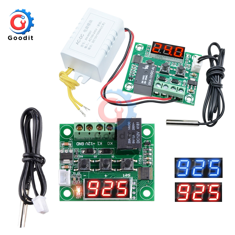 Temperature Controller Switch Thermostat Thermometer Sensor Module 50 to+110°C