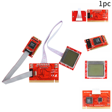 PCI Motherboard Diagnostic Tester Analyzer Motherboard Diagnostic Card for PTI8 Laptop and Computer Motherboard Diagnostics pc motherboard repair troubleshoot diagnostic pci card 6 digit codes