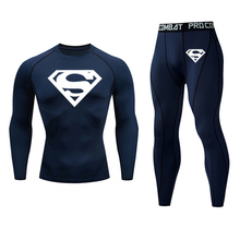 men #8217 s clothing winter Clothing Quick drying leggi ngs compression Fitn ess winter Men #8217 s ther mal underc lothes tracksuit shirt cheap Long Johns COTTON Polyester Polyester Blends spandex thermal unrwear Functinal poyester fiber Moisre pespirtion qick-rying breathable super elasticity
