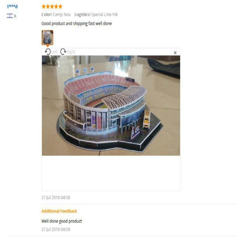 Image 5 - ثلاثية الأبعاد لغز الأوروبي شنطة نادي كرة القدم ليفربول أماكن DIY بها بنفسك نموذج لغز لعبة ورقة بناء ملعب كرة القدم لكرة القدم تجميع لعبة الهداياألغازالألعاب والهوايات -